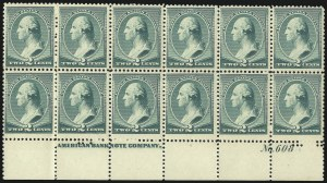 Sale Number 1000, Lot Number 1102, 1870-88 Bank Note Issues2c Green (213), 2c Green (213)