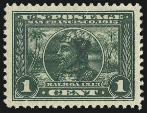 Sale Number 1000, Lot Number 1209, Panama-Pacific Issue1c Panama-Pacific (397), 1c Panama-Pacific (397)