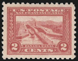 Sale Number 1000, Lot Number 1218, Panama-Pacific Issue2c Panama-Pacific, Perf 10 (402), 2c Panama-Pacific, Perf 10 (402)
