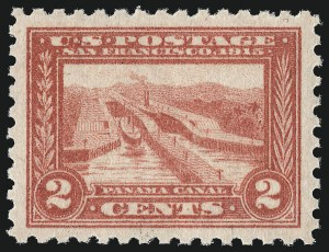 Sale Number 1000, Lot Number 1219, Panama-Pacific Issue2c Panama-Pacific, Perf 10 (402), 2c Panama-Pacific, Perf 10 (402)
