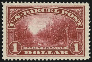 Sale Number 1000, Lot Number 1306, Parcel Post$1.00 Parcel Post (Q12), $1.00 Parcel Post (Q12)
