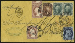Sale Number 1002, Lot Number 3776, 5c 1857-60 Issue5c Bright Red Brown (28b), 5c Bright Red Brown (28b)