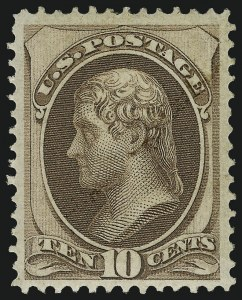 Sale Number 983, Lot Number 101, 1870-88 Bank Note Issues10c Brown (150), 10c Brown (150)