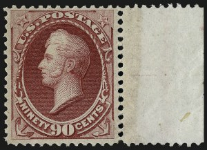 Sale Number 983, Lot Number 104, 1870-88 Bank Note Issues90c Carmine (155), 90c Carmine (155)