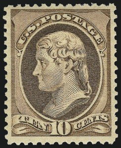 Sale Number 983, Lot Number 125, 1870-88 Bank Note Issues10c Yellow Brown (209 var), 10c Yellow Brown (209 var)