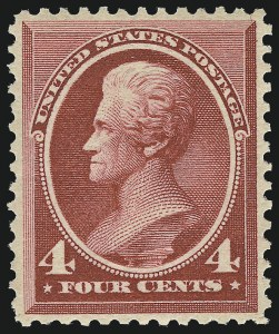Sale Number 983, Lot Number 129, 1870-88 Bank Note Issues4c Carmine (215), 4c Carmine (215)