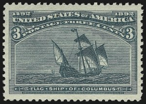 Sale Number 983, Lot Number 141, Columbian Issue3c Columbian (232), 3c Columbian (232)