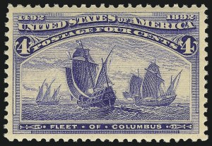 Sale Number 983, Lot Number 142, Columbian Issue4c Columbian (233), 4c Columbian (233)
