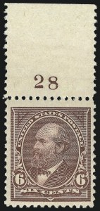 Sale Number 983, Lot Number 159, 1894-98 Bureau Issue6c Dull Brown (256), 6c Dull Brown (256)