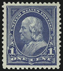 Sale Number 983, Lot Number 164, 1894-98 Bureau Issue1c Blue (264), 1c Blue (264)
