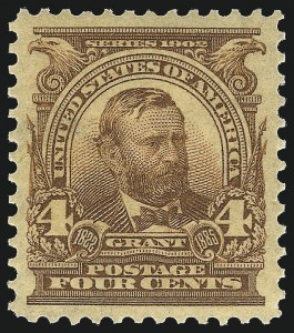 Sale Number 983, Lot Number 195, 1902-08 Issue4c Brown (303), 4c Brown (303)