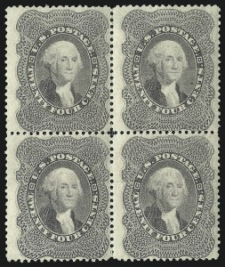 Sale Number 983, Lot Number 31, 1857-60 Issue 24c Gray Lilac (37), 24c Gray Lilac (37)