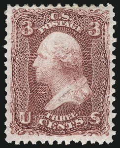 Sale Number 983, Lot Number 45, 1861-66 Issue3c Lake (66), 3c Lake (66)