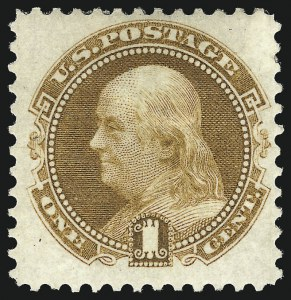 Sale Number 983, Lot Number 85, 1875 Re-Issue of 1869 Pictorial Issue 1c Buff, Re-Issue (123), 1c Buff, Re-Issue (123)