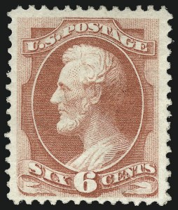 Sale Number 983, Lot Number 95, 1870-88 Bank Note Issues6c Carmine, Grill (137), 6c Carmine, Grill (137)
