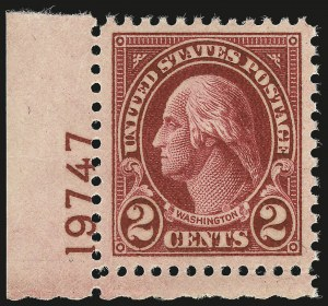 Sale Number 984, Lot Number 1016, 1922-29 and Later Issues (Scott 574 onwards)2c Carmine, Ty. II (634A), 2c Carmine, Ty. II (634A)