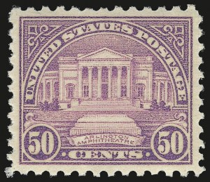 Sale Number 984, Lot Number 1025, 1922-29 and Later Issues (Scott 574 onwards)50c Lilac (701), 50c Lilac (701)