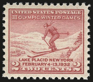Sale Number 984, Lot Number 1026, 1922-29 and Later Issues (Scott 574 onwards)2c Lake Placid (716), 2c Lake Placid (716)