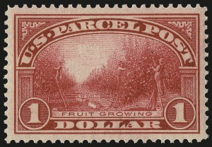 Sale Number 984, Lot Number 1195, Parcel Post, Carriers (Q, JQ, LO, L)$1.00 Parcel Post (Q12), $1.00 Parcel Post (Q12)