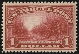 Sale Number 984, Lot Number 1197, Parcel Post, Carriers (Q, JQ, LO, L)$1.00 Parcel Post (Q12), $1.00 Parcel Post (Q12)