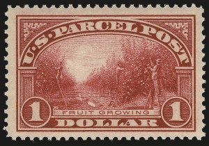 Sale Number 984, Lot Number 1198, Parcel Post, Carriers (Q, JQ, LO, L)$1.00 Parcel Post (Q12), $1.00 Parcel Post (Q12)