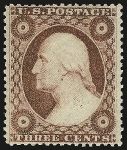 Sale Number 984, Lot Number 138, 3c-5c 1857-60 Issue (Scott 25-30A)3c Dull Red, Ty. III (26). Mint N.H, 3c Dull Red, Ty. III (26). Mint N.H