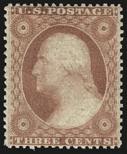 Sale Number 984, Lot Number 139, 3c-5c 1857-60 Issue (Scott 25-30A)3c Dull Red, Ty. III (26). Mint N.H, 3c Dull Red, Ty. III (26). Mint N.H