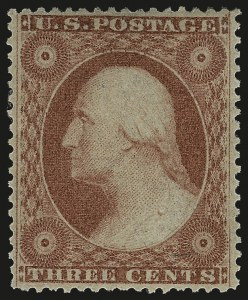 Sale Number 984, Lot Number 141, 3c-5c 1857-60 Issue (Scott 25-30A)3c Dull Red, Ty. III (26), 3c Dull Red, Ty. III (26)