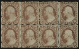 Sale Number 984, Lot Number 144, 3c-5c 1857-60 Issue (Scott 25-30A)3c Dull Red, Ty. III (26), 3c Dull Red, Ty. III (26)