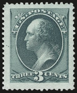 Sale Number 984, Lot Number 475, 1870-71 National Bank Note Co. Ungrilled Issue (Scott 145-155)3c Green (147), 3c Green (147)