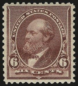 Sale Number 984, Lot Number 524, 1890-93 Issue (Scott 219-229)6c Brown Red, 6c Lake (224, 282), 6c Brown Red, 6c Lake (224, 282)