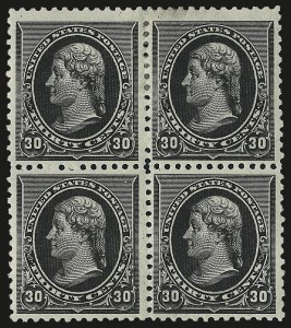 Sale Number 984, Lot Number 532, 1890-93 Issue (Scott 219-229)30c Black (228), 30c Black (228)