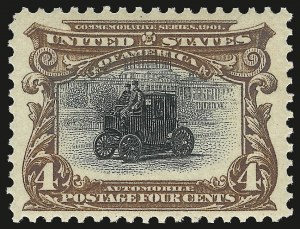 Sale Number 984, Lot Number 734, 1901 Pan-American Issue (Scott 294-299)4c Pan-American (296), 4c Pan-American (296)
