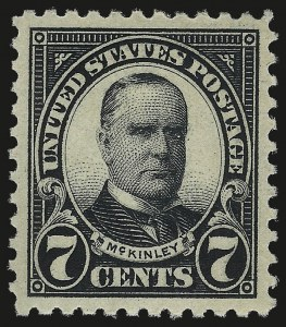 Sale Number 984, Lot Number 963, 1922-29 Issues (Scott 551-573)7c Black (559), 7c Black (559)