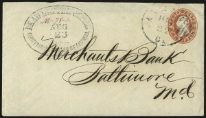 Sale Number 988, Lot Number 24, Suspension of U.S. Post Office Across-the-Lines RoutesDead Letter Office, Confederate States of America, Aug. 23, 1861, Dead Letter Office, Confederate States of America, Aug. 23, 1861