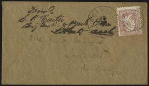 Sale Number 988, Lot Number 257, Flag-of-Truce Mail: Provost Marshal ExaminersFederal Provost Marshal Prison, Knoxville Tenn, Federal Provost Marshal Prison, Knoxville Tenn