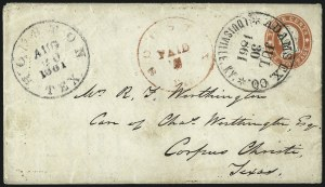 Sale Number 988, Lot Number 74, Across-the-Lines Private Express Mail: Adams ExpressAdams Ex. Co. * Louisville, Ky. * Jul. 30, 1861, Adams Ex. Co. * Louisville, Ky. * Jul. 30, 1861
