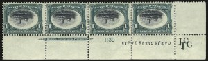 Sale Number 989, Lot Number 173, Trans-Mississippi, Pan-American Issues 1c Pan-American, Center Inverted (294a), 1c Pan-American, Center Inverted (294a)