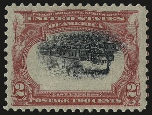 Sale Number 989, Lot Number 175, Trans-Mississippi, Pan-American Issues 2c Pan-American, Center Inverted (295a), 2c Pan-American, Center Inverted (295a)