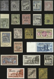 Sale Number 989, Lot Number 288, French Maritime Mails, French ColoniesTHE MARC WEINBERG-MARTIN COLLECTION OF 19TH AND 20TH CENTURY FRENCH COLONIES, THE MARC WEINBERG-MARTIN COLLECTION OF 19TH AND 20TH CENTURY FRENCH COLONIES