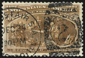 Sale Number 992, Lot Number 2282, 1893 Columbian Issue (1c thru 8c, Scott 230-236)1c-50c Columbian (230, 232-240), 1c-50c Columbian (230, 232-240)