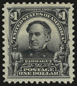 Sale Number 992, Lot Number 2402, 1902-08 Issues (Scott 300-319)$1.00 Black (311), $1.00 Black (311)