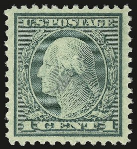 Sale Number 992, Lot Number 2525, 1919-20 Issues (Scott 537-550)1c Green, Rotary Perf 11 (545), 1c Green, Rotary Perf 11 (545)