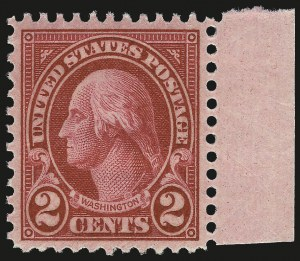 Sale Number 992, Lot Number 2554, 1922-29 and Later Issues (Scott 574 onwards)2c Carmine, Ty. I (634), 2c Carmine, Ty. I (634)