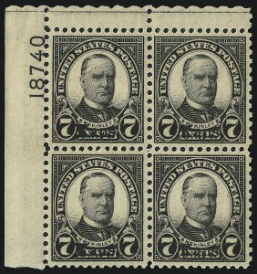 Sale Number 992, Lot Number 2559, 1922-29 and Later Issues (Scott 574 onwards)7c Kans. Ovpt. (665), 7c Kans. Ovpt. (665)