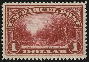 Sale Number 992, Lot Number 2671, Parcel Post, Carriers (Q, JQ, LO, L)$1.00 Parcel Post (Q12), $1.00 Parcel Post (Q12)