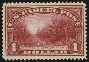 Sale Number 992, Lot Number 2672, Parcel Post, Carriers (Q, JQ, LO, L)$1.00 Parcel Post (Q12), $1.00 Parcel Post (Q12)