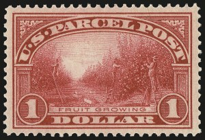 Sale Number 992, Lot Number 2673, Parcel Post, Carriers (Q, JQ, LO, L)$1.00 Parcel Post (Q12), $1.00 Parcel Post (Q12)