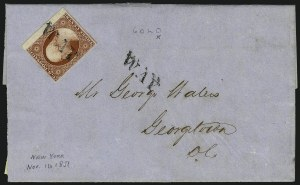 Sale Number 996, Lot Number 3004, Other Plate Reconstructions and Study CollectionsThe DeVere Card Exhibit of 3c 1851 Imperforate Issues, The DeVere Card Exhibit of 3c 1851 Imperforate Issues