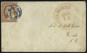 Sale Number 996, Lot Number 3125, 3c Dull Red Shades - Covers3c Dull Red, Ty. II (11A), 3c Dull Red, Ty. II (11A)